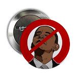 "No Obama 2008 2.25"" Button"