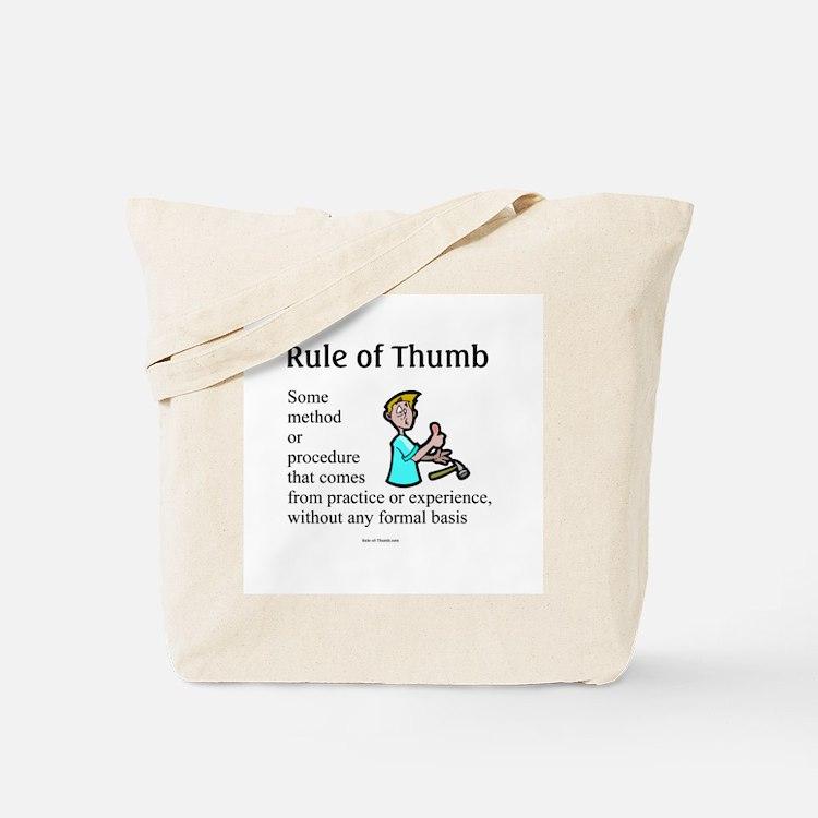 Full Rule - Hurt Tote Bag