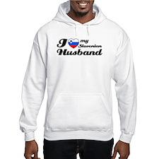 I love my Slovenian Husband Hoodie