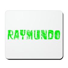 Raymundo Faded (Green) Mousepad