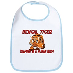 Bengal Tiger trapped in a human body Bib