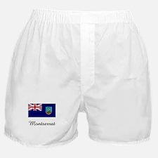 Montserrat Flag Boxer Shorts