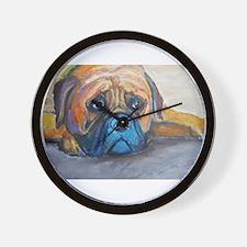 """Henry"" a Bullmastiff Wall Clock"