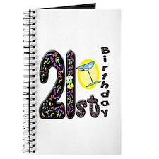 21st Birthday Journal