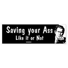 Saving your Ass Bumper Sticker (50 pk)