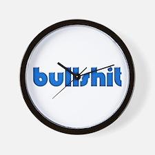 Bullshit - Wall Clock