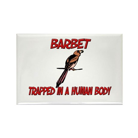Barbet trapped in a human body Rectangle Magnet