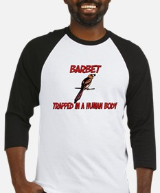 Barbet trapped in a human body Baseball Jersey