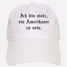 I'm proud to be an American. Baseball Baseball Cap