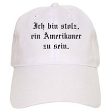 I'm proud to be an American. Baseball Cap