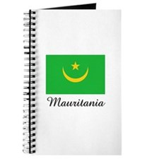 Mauritania Flag Journal