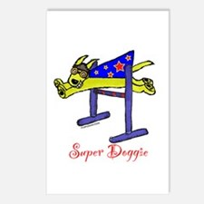 Super Doggie Bar Jump Postcards (Package of 8)