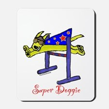 Super Doggie Bar Jump Mousepad