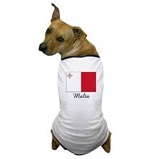 Malta Flag Dog T-Shirt