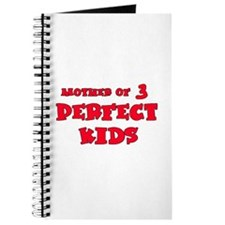 Mother of 3 Perfect Kids Journal