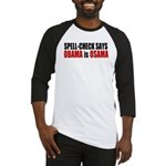 Spell Check Obama Baseball Jersey