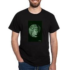 Margery cameo hunter green T-Shirt