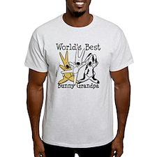 World's Best Bunny, Rabbit Grandpa T-Shirt