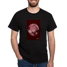 Lillian cameo burgundy T-Shirt