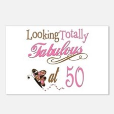 Fabulous 50th Postcards (Package of 8)
