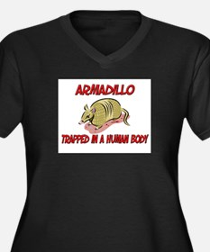 Armadillo trapped in a human body Women's Plus Siz