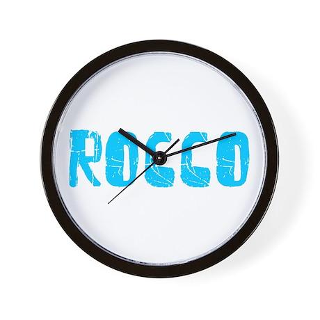 Rocco Faded (Blue) Wall Clock