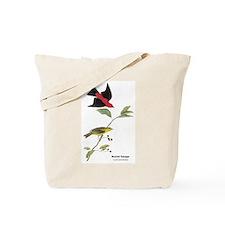 Audubon Scarlet Tanager Birds Tote Bag