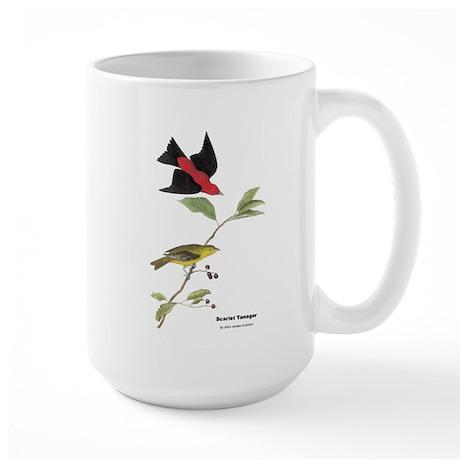Audubon Scarlet Tanager Birds Large Mug