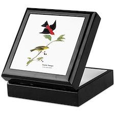 Audubon Scarlet Tanager Birds Keepsake Box