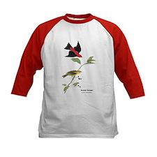 Audubon Scarlet Tanager Birds (Front) Tee