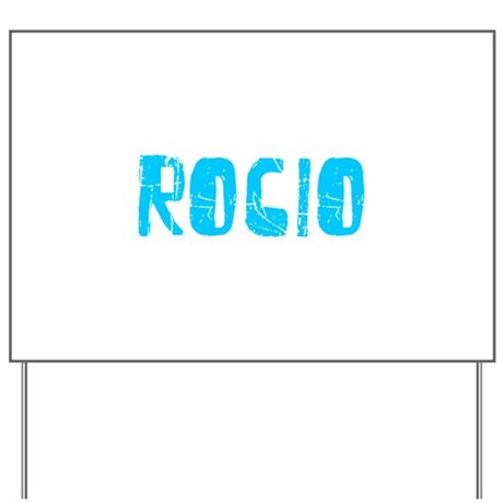 Rocio Faded (Blue) Yard Sign