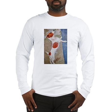 A Jack Russell Terrier Long Sleeve T-Shirt