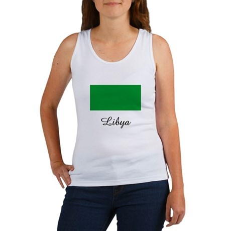 Libya Flag Women's Tank Top