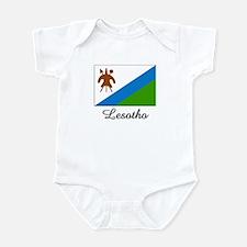 Lesotho Flag Infant Bodysuit