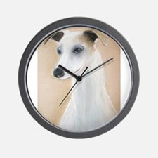 Lilyth a Whippet  Wall Clock