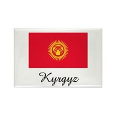 Kyrgyz Flag Rectangle Magnet