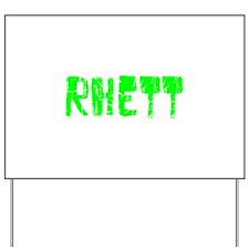Rhett Faded (Green) Yard Sign
