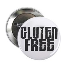 "Gluten Free 1.3 (Charcoal) 2.25"" Button"