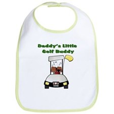 Daddy's Little Golf Buddy Bib