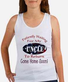 Patiently waiting for my Uncl Women's Tank Top
