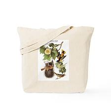 Audubon Northern Oriole Birds Tote Bag