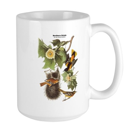 Audubon Northern Oriole Birds Large Mug