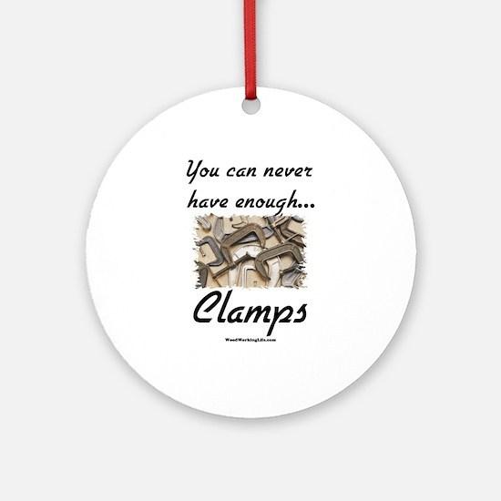 Clamps Design #2 Keepsake (Round)