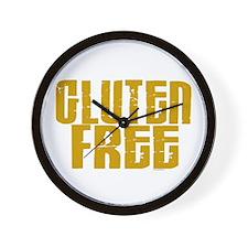 Gluten Free 1.4 (Mustard) Wall Clock