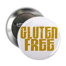 """Gluten Free 1.4 (Mustard) 2.25"""" Button"""