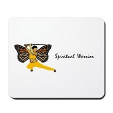 Spiritual Warrior Mousepad