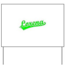 Retro Lorena (Green) Yard Sign