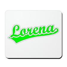 Retro Lorena (Green) Mousepad