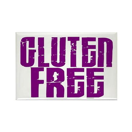 Gluten Free 1.5 (Grape) Rectangle Magnet
