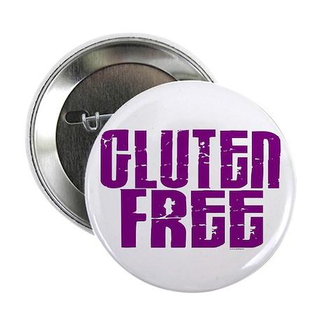 "Gluten Free 1.5 (Grape) 2.25"" Button"
